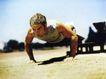 体育运动0126,体育运动,广告创意,做俯卧撑