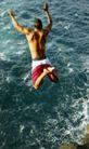 体育运动0139,体育运动,广告创意,跳入海里