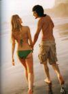 情侣摄影0035,情侣摄影,广告创意,年轻人 男女 海滩