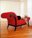 装饰创意0029,装饰创意,广告创意,红色椅子 斑点狗