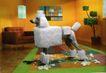 装饰创意0038,装饰创意,广告创意,木马 动物 沙发