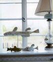 装饰创意0039,装饰创意,广告创意,装饰物 鱼儿 台灯