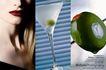 钟表化妆品广告0155,钟表化妆品广告,广告创意,高脚杯