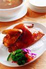 中餐文化0060,中餐文化,美食,整鸡 烤鸡
