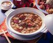 养生食补0033,养生食补,美食,肉块 砂锅 筷架