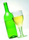食品饮料0055,食品饮料,美食,酒瓶和酒杯