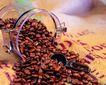 香醇咖啡0037,香醇咖啡,美食,豆子 黑豆 勺子