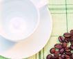 香醇咖啡0041,香醇咖啡,美食,白色杯碟