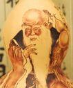 传统工艺0033,传统工艺,中国传统,老寿星 长胡须