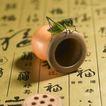 传统工艺0042,传统工艺,中国传统,青色蟋蟀