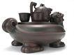 瓷器0173,瓷器,中国传统,紫砂套件