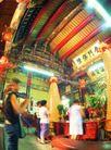 祈福0011,祈福,中国传统,庙里 敬菩萨