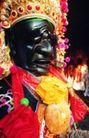 祈福0054,祈福,中国传统,黑脸 精致头饰
