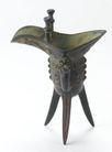 青铜器0128,青铜器,中国传统,三脚酒杯