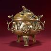 青铜器0202,青铜器,中国传统,精致铜鼎