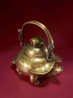 青铜器0204,青铜器,中国传统,金色壶子