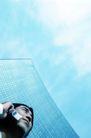 生意观念0181,生意观念,商业,打电话 蓝天
