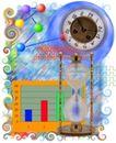 创意商务0134,创意商务,商业,沙漏 钟表 指数