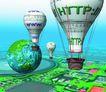 创意商务0140,创意商务,商业,热气球
