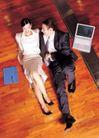 商业方式0061,商业方式,商业,坐在地板上