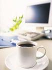 商业科技0095,商业科技,商业,黑咖啡 茶杯 静物