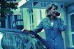 生意个性0047,生意个性,商业,手搭在车顶