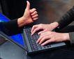 电子时代0075,电子时代,商业,竖起大拇指