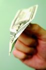 金融符号0034,金融符号,商业,纸飞机 纸币 拳头