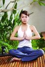 瑜伽美女0075,瑜伽美女,美容,双手合十