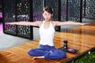 瑜伽美女0083,瑜伽美女,美容,手臂张开