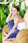 瑜伽美女0092,瑜伽美女,美容,白皙美女 赤脚 椅子