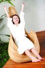 瑜伽美女0096,瑜伽美女,美容,睡衣 伸懒腰 假日休闲
