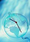 时间观念0027,时间观念,静物,指针 透明地球仪