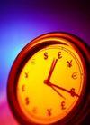 时间观念0030,时间观念,静物,货币符号