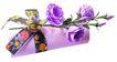 礼品包装0080,礼品包装,静物,紫色的花
