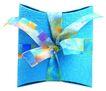礼品包装0088,礼品包装,静物,蓝色外壳