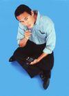 网络生活0064,网络生活,科技,蓝色地板