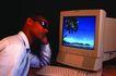 科技幻影0040,科技幻影,科技,电脑 屏幕 工作狂