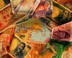金融状况0165,金融状况,金融,彩色纸钞