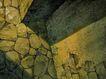 建筑空间0155,建筑空间,建筑,石头墙
