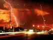 艺术建筑0006,艺术建筑,建筑,闪电 抓拍闪电