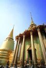 金色建筑0002,金色建筑,建筑,尖顶 金色大殿
