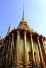 金色建筑0008,金色建筑,建筑,大柱子