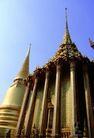金色建筑0009,金色建筑,建筑,大柱子支撑