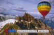 风景名胜0111,风景名胜,建筑,热气球 山脉