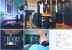 复式风情0033,复式风情,装饰,家具 壁画 卧房