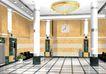 宾馆酒店模型0008,宾馆酒店模型,装饰,大柱子