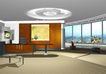 宾馆酒店模型0033,宾馆酒店模型,装饰,桌子 窗户 天花
