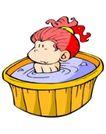 处女座0179,处女座,综合,洗澡 水盆