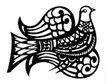 飞禽0242,飞禽,综合,剪纸图案